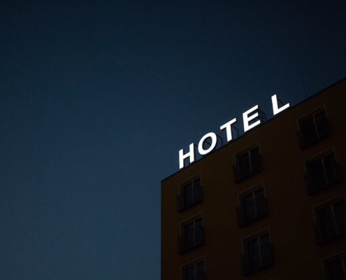 hotel-sign-at-night