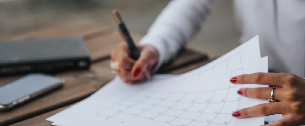 female-professional-making-a-checklist