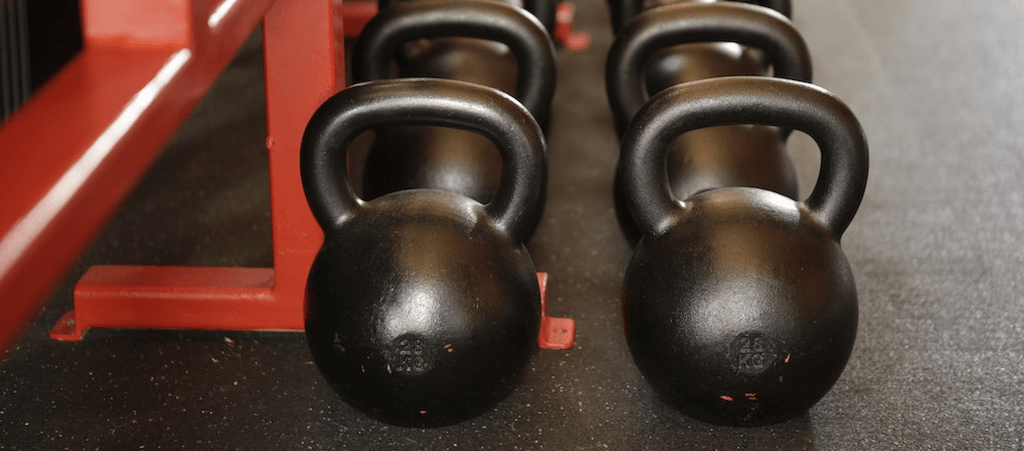 kettle-bells-in-gym